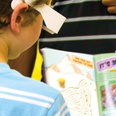 Service-Learning Classes Team Up  to Create Museum Books for Kids
