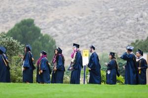 Graduates entering green